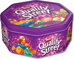 Nestle Quality Street Tin Extra Large, Can, Assorted Chocolates, Imported from United Kingdom Nestle Chocolate, Chocolate Toffee, Holiday Gift Guide, Holiday Gifts, Quality Streets Chocolates, Christmas In England, Christmas 2014, Merry Christmas, Sweets