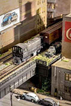 This is one of the many collections of an HO-Scale Train set that you must have!!