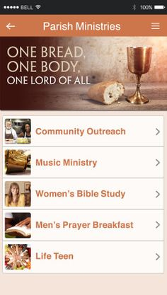 NEW from Our Sunday Visitor -- Parish Apps customized for your parish! Events, notifications, online giving, mass times, Catholic news -- everything you need, right on your smartphone.