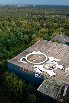 like the placement view from plane - Blo, Berlin - unurth | street art