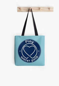 My heart belong to water polo. Women's Water Polo, Water Polo Players, Polo T Shirts, Classic T Shirts, Iphone Cases, Reusable Tote Bags, Stickers, Heart, Artwork
