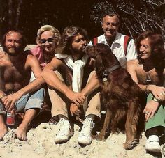Bee Gees with their parents