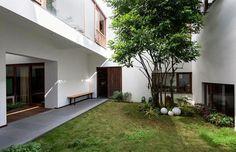 HL House: Thiết kế nhà phố  với 7 không gian xanh ở Quy Nhơn qpdesign