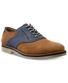 I like the shape not the colour  Bass Shoes, Burlington Signature Saddle Oxford - Shoes - Men - Macy's