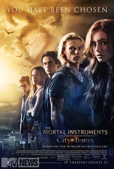 Mortal Instruments Kanada: City of Bones postáv Plagáty
