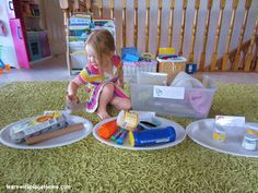 Learn with Play at home: Recycling Sorting Activity + Free Printable Recycling Signs & ebooks