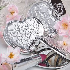 Lips Katie Price Besotted Lip Balm In Heart Shaped Crystal Mirror Compact Cheap Sales 50% Health & Beauty