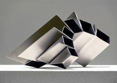 Jacek Wańkowski  Segment10 2013  steel 17 x 30 x 26cm