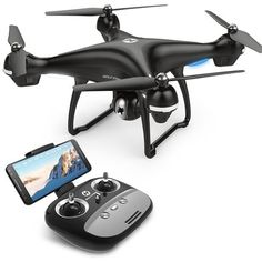 1 x Drone (with Manual). Built in altitude hold function allows drone to fly while its height locked. The orientation of the drone is in relation to the pilot. Great function when the drone is out of sight. Gopro, Drone Rc, Drone Quadcopter, 4k Hd, Hd 1080p, Bonjour Ca Va, Leica, Avion Drone, Camcorder