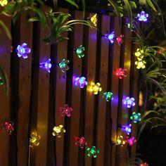 solar led outdoor string lights for the garden tree httpwww