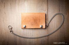 Biker Wallet, Snap Wallet, Leather Wallet, Chain Wallet, Mens wallet 013 on Etsy, $64.00
