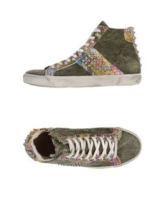 Leather Crown | Green High-tops & Sneakers | Lyst