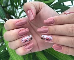 Spring Nail Art, Spring Nails, Nail Art Designs, Best Acrylic Nails, Stylish Nails, Flower Nails, Nails Inspiration, Fun Nails, Hair And Nails