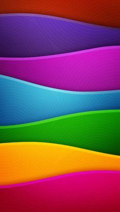 Color waves✖️FOSTERGINGER AT PINTEREST ✖️ 感謝 / 谢谢 / Teşekkürler / благодаря / BEDANKT / VIELEN DANK / GRACIAS / THANKS : TO MY 10,000 FOLLOWERS✖️