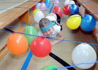 Bildergebnis für bewegungslandschaft kindergarten Gross Motor Activities, Indoor Activities For Kids, Gross Motor Skills, Preschool Activities, Crafts For Kids, Diy Crafts, Fun Games, Games For Kids, Easter Party Games