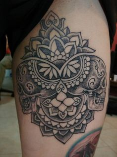 - Dotwork Skulls I might take a trip to belgium just to get these tattoos