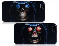 3D Skull Hard Protective Case Cover For iPhone 5