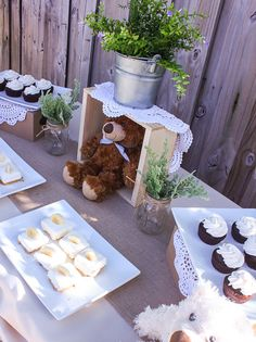 Vintage Chic Baby Shower Party Ideas | Shower Centerpieces, Centerpieces  And Vintageu0027