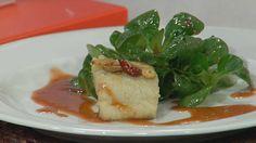 Cocina con Sergio - Bacalao con salsa de fresas