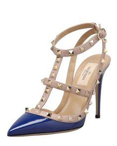Valentino blue Pumps