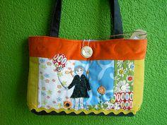 Girl with balloon-handbag