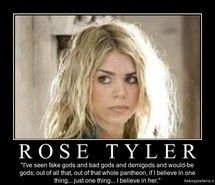 """Inspiring image believe, quote, rose tyler, tenth doctor, tenrose #2808661 by carollewhovian 