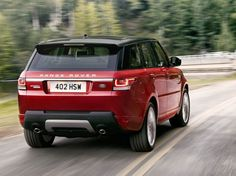 New generation of Range Rover Sport brings traces of Evoque Land Rover - Range Rover Sport 2014 red rear – www.carskings.com