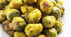 The Best Garlic Roasted Brussels Sprouts   Recipe   Sprouts, Brussels Sprout and Brussels