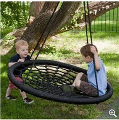 Frugal-Freebies.com: The Swing and Spin Large Swing can be attached to your existing swing set or hung from a tree. Swing like you would normally do or swirl around. Experience a new fun way to enjoy swinging. Vote below - Good idea - or - Waste of Money?