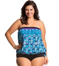 Choosing Best Junior Plus Size Swimwear : Plus Size Tankinis Within Choosing Best Junior Plus Size Swimwear