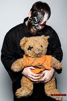 photo by David Wilson My facepaint for Switch @ Insane Championship Wrestling, Glasgow 2014 David Wilson, Glasgow, Nail Designs, Teddy Bear, Wrestling, Makeup, Animals, Nail Desings, Lucha Libre