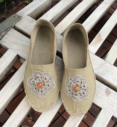 Sandalen - Espadrilles  - ein Designerstück von Lotti-Geli bei DaWanda
