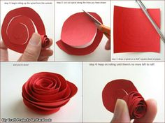 Roses Crafts Crafting