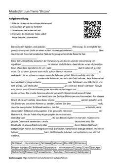 """Arbeitsblatt mit Lückentext zum Thema """"Vereinigte Staaten"""