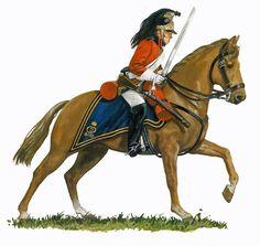 Trooper 1st Dragoon Guard 1812