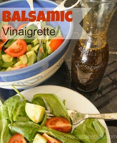 Home made Balsamic Salad Vinaigrette