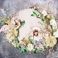 """Olya Kravets: Layout """"Children's Dreams"""" for 49 and Market"""