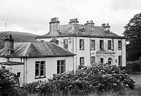 """Ballechin House - """"most haunted in Scotland"""" after the death of Major Robert Steuart, who reportedly believed he would be reincarnated as a dog. His nephew, on inheriting the property, shot all his uncle's dogs to prevent such a reincarnation. Shirley Jackson, Past Life Regression, Most Haunted, Old Things, Cabin, Mansions, History, House Styles, World"""