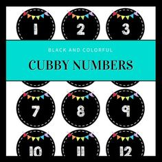Do you need classroom organization? This freebie will help you number your cubbies, lockers, or other student materials.