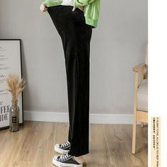 The maternity autumn style pure color wide leg hi loose waist pants is so casual and loose , and it is friendly for pregnant women. #maternitypants #maternityloosepants #maternitybottom Soft Pants, Loose Pants, Wide Leg Pants, Maternity Pants, Autumn Style, High Waist, Autumn Fashion, Pure Products, Casual