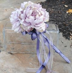 This ethereal looking wand of mauve silk flowers could also be made up with fresh florals as well. Wedding Wands, Rose Wedding, Floral Wedding, Wedding Bouquets, Wedding Flowers, Dream Wedding, Flower Girl Wand, Flower Girl Basket, Peony Flower