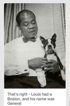 Louis Armstrong with General.