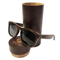 aad03902e5f01 Iambcoolin.com  Unisex   100% Bamboo Wood POLARIZED Sunglasses