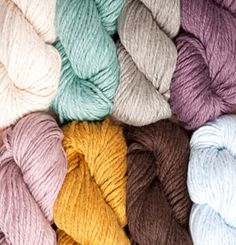 Billow - can't wait to try this, I've been waiting for a bulky weight cotton!  I'm thinking throw pillows!
