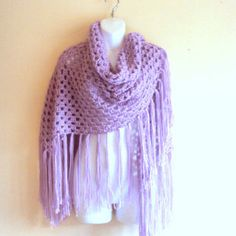 Best Free Crochet Shawls And Wraps Products on Wanelo