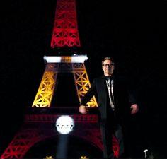 I guess Robert Downey Jr. took over Paris. Kewl!