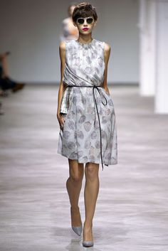 Dries Van Noten Spring 2013 Ready-to-Wear Fashion Show - Amra Cerkezovic (WOMEN)