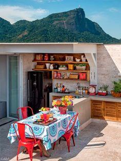 Dúplex no Rio com terraço perfeito para receber