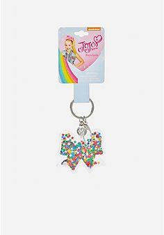 Jojo Siwa Shakey Glitter Bow Key Chain