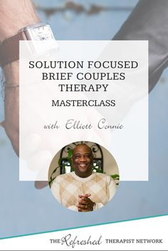 In this masterclass, Solution Focused Brief Therapy expert Elliott Connie explains his 5 guiding principles for using SFBT with couples, as well as his process for developing the approach.